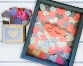 Shadow Box with Heart Dro...