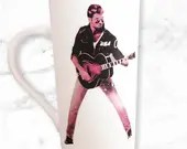 George Michael - Coffee Mug - Extra Tall Coffee Mugs - Musician Gifts - Guitar Gifts - George Coffee Mug - Coffee Gifts