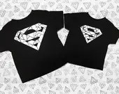 Super Man Urban Wear For Toddlers and Boys - Personalized Kids Tops - Childrens Super Hero Tops
