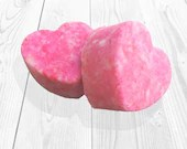 Luscious Heart Cotton Candy Bath Bombs for the Ultimate Bath Experience!