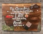 My Grandma has ear that a...
