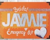Bridal Emergency Box - Personalized Emergency Kit - Bridal Shower Gifts - Gifts for the Bride - Emergency Bridal Box