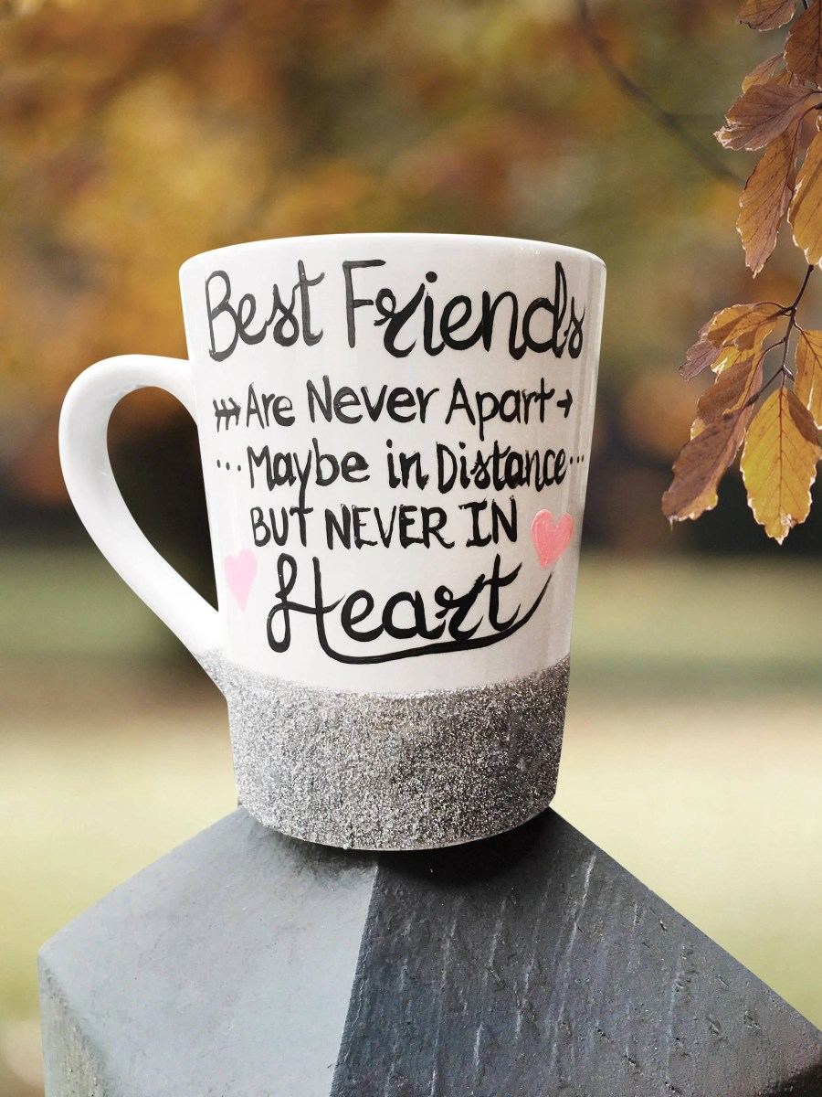 Best Friends are never ap...