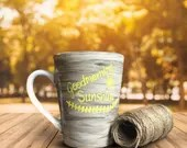 Good Morning Sunshine - Coffee Mug in Matte Finish for a sleek sunshiney morning cup of cafe!