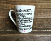 The Definition of Nana Coffee Mug - Gifts for Nana! Personalize to any grandparent name requested!