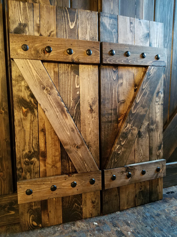 Z Bar Rustic Wood Shutters 48 Decorative Shutters Window