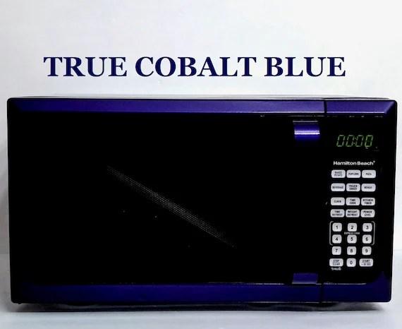 cobalt blue hamilton beach microwave oven true cobalt blue microwave oven cobalt blue appliances cobalt blue kitchenaid choose a color