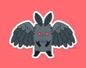 Lil Mothman Weatherproof Sticker