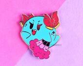 Lady Bow Enamel Pin