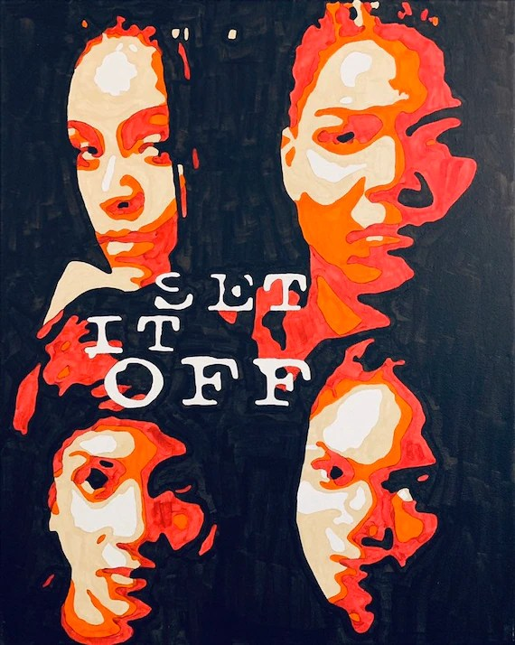set it off movie acrylic painting poster print
