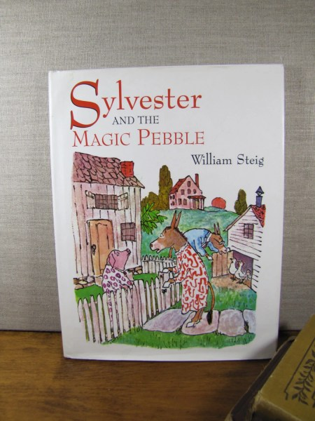 Vintage Children s Book Sylver and the Magic Pebble   Etsy