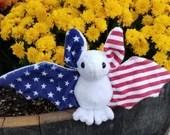 MADE TO ORDER American Patriotic Bat Plush