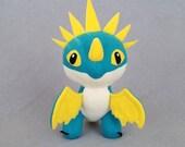 MADE TO ORDER Blue Wyvern Dragon Plush