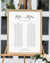 Banquet Seating Chart 2 Long Tables Banquet Table Plan Etsy