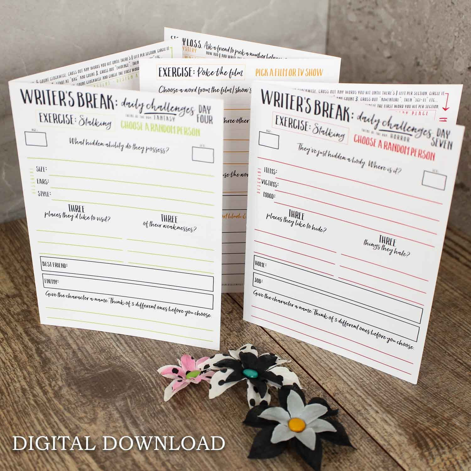 Writing Prompts Printable Worksheets Ideas And Writing