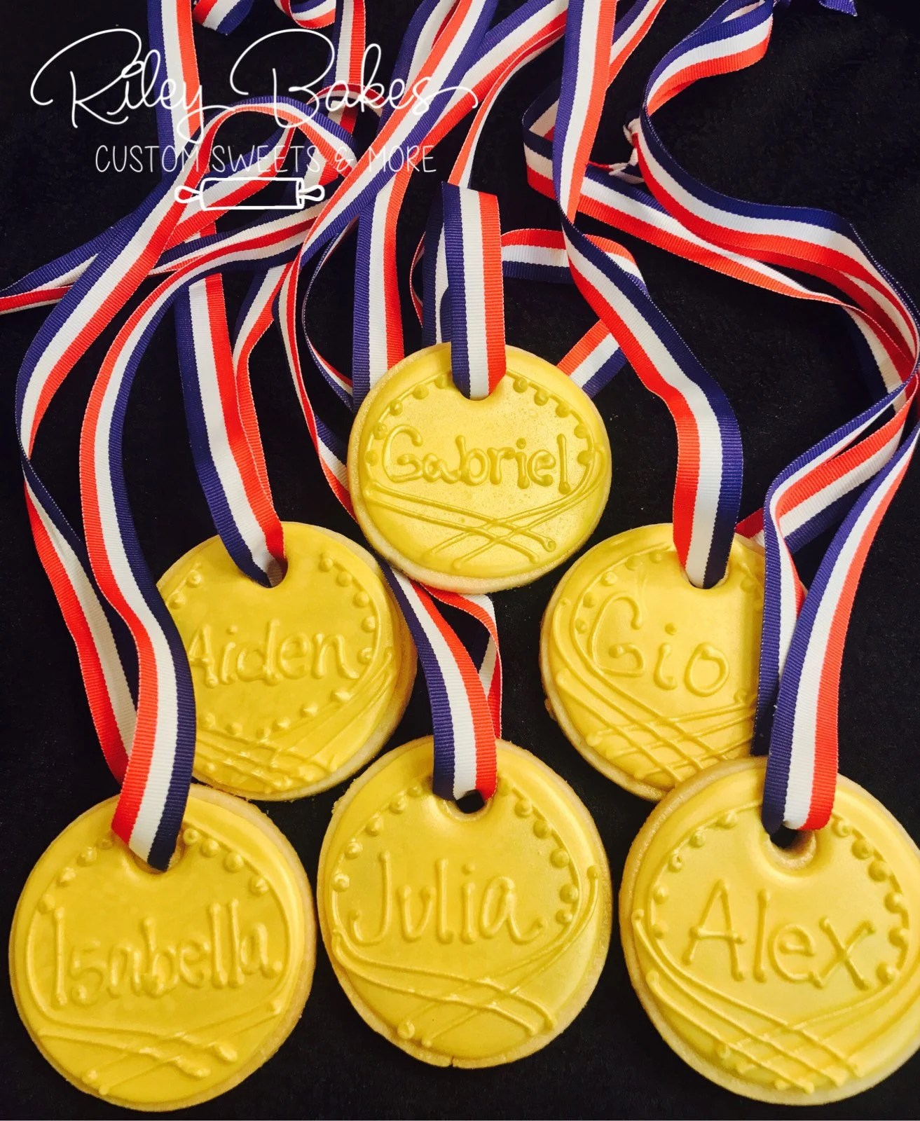 Gold Medal Cookies Olympics Party Ninja Warrior Birthday