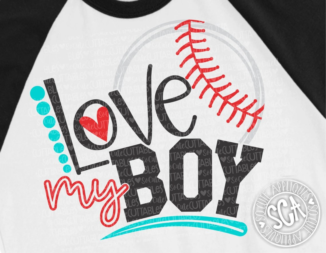 Download Baseball mom svg design love my boy baseball svg baseball ...