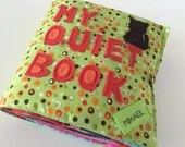 Quiet Book for Toddlers Boy Themed Made to order| Activity book| Birthday gift| Fabric book