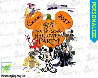 disney halloween iron on transfer