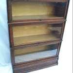 Pristine Antique Macey Barrister Bookcase