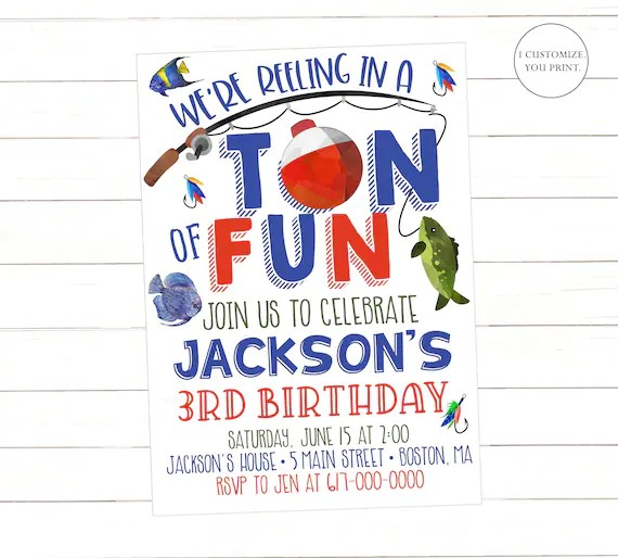 birthday printable invitation 1842