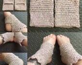Crocheted Yoga Socks-Croc...