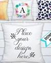 Pillow Mockup Blank Pillow Mock Up Empty Cushion Mockup Etsy