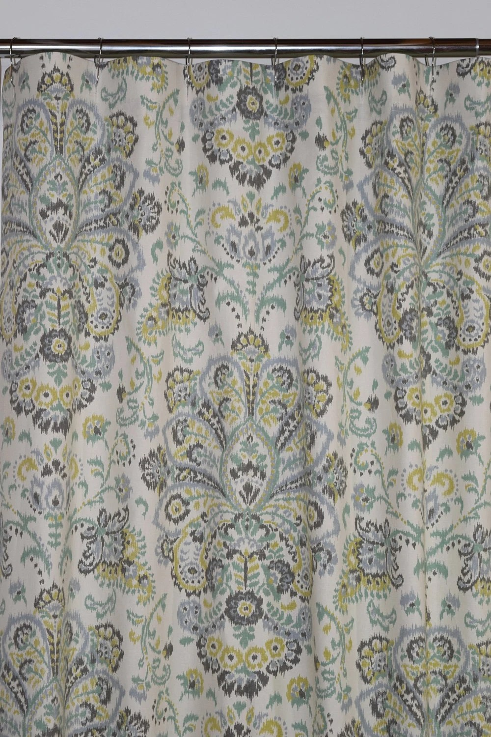 custom fabric shower curtain stall 54 x 78 72 x 84 108 extra wide shower curtain provence mist spa green grey chartreuse long shower curtain