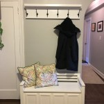 12 36 Inch Coat Rack With Shelf Entryway Organizer Rustic Wall Mounted Handmade Coat Rack