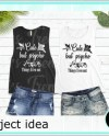 Black White Two Tank Top Mockups Double Color Bella Canvas Etsy