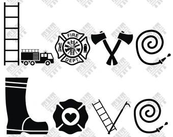 Download Firemen svg   Etsy