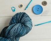 Hand dyed yarn - Nebula y...