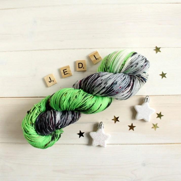Hand dyed sock yarn inspi...