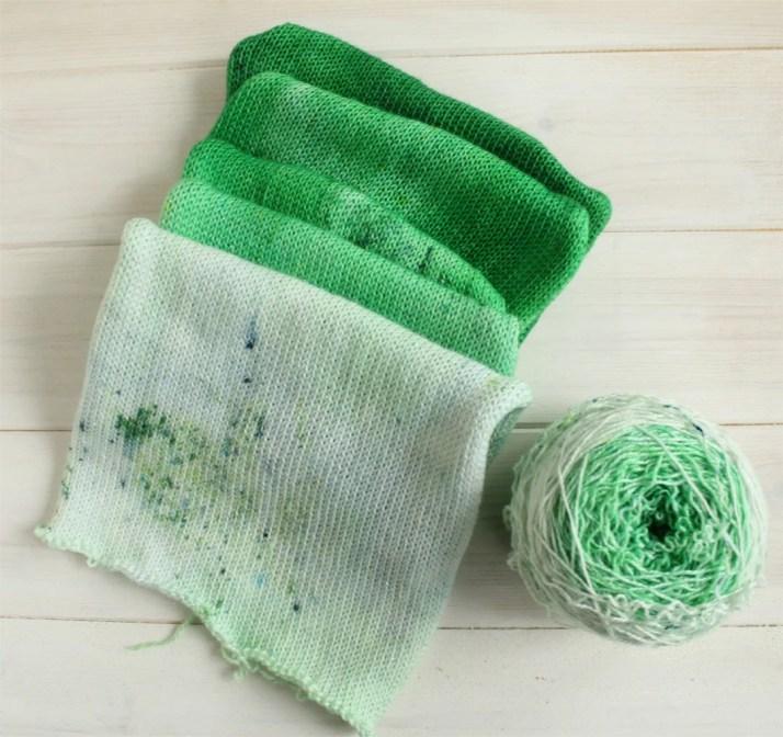 Hand dyed gradient yarn c...