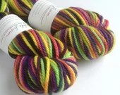 Hand dyed chunky merino y...