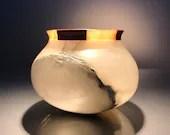 Meditative stone candle h...