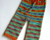 Hand knitted wool nappy c...