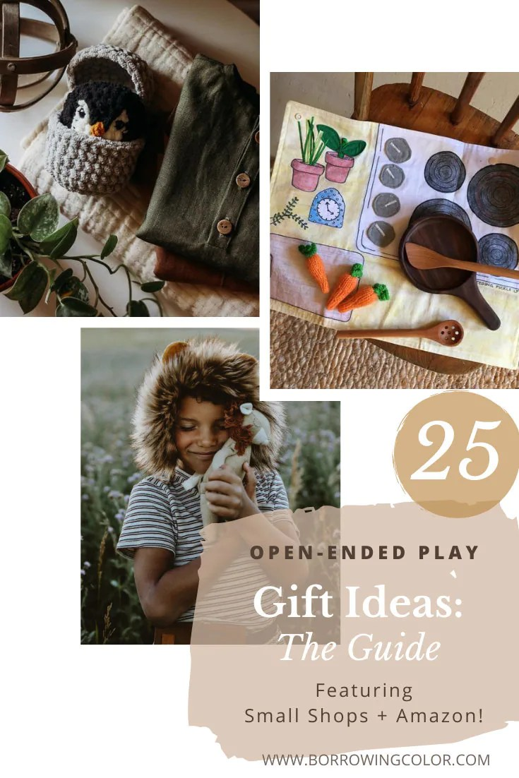 25 open ended play gift ideas featuring small shops and amazon