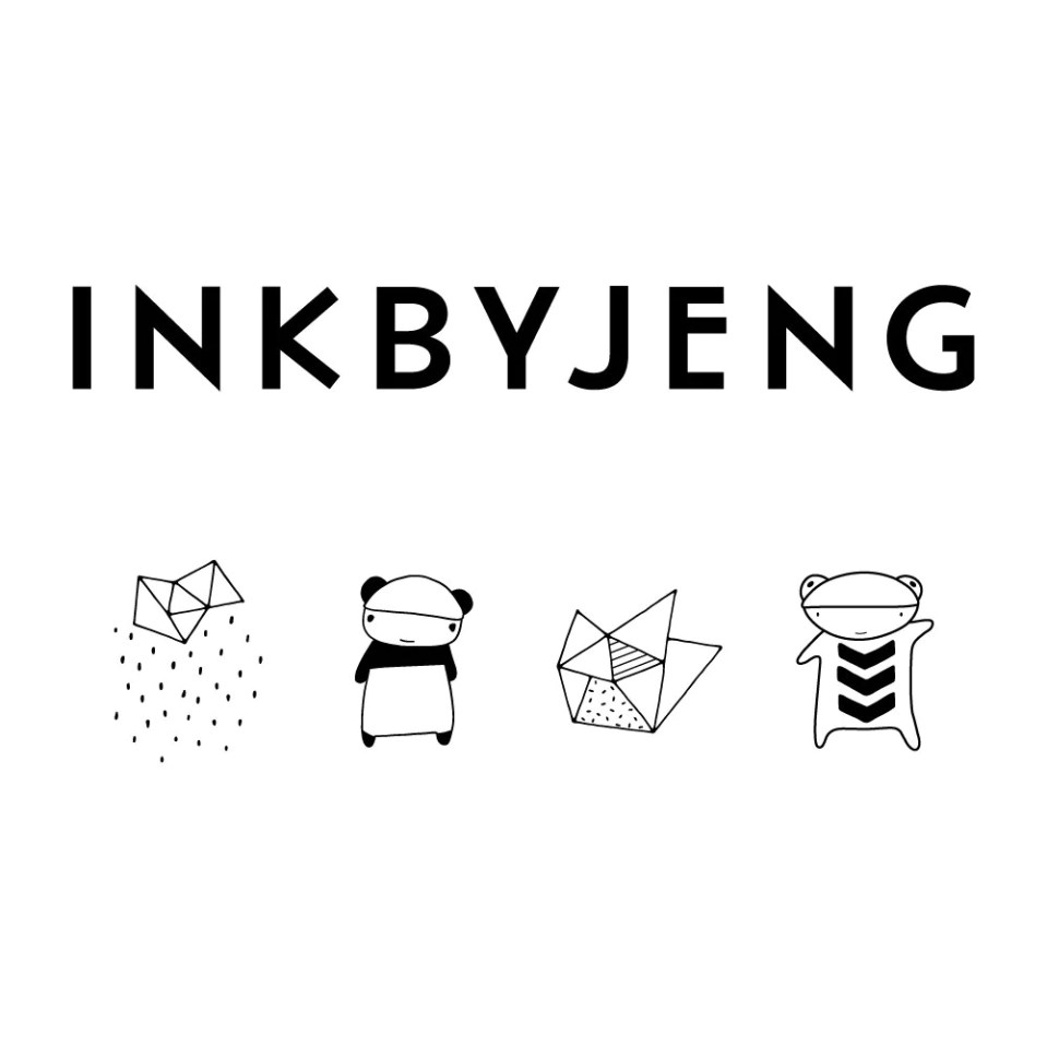 Modern Journal Accessories | Stationery by INKBYJENG
