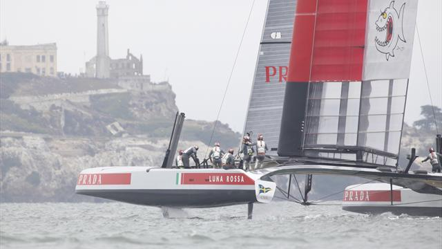 Luna Rossa beats Artemis on forfeit at Louis Vuitton Cup - Sailing