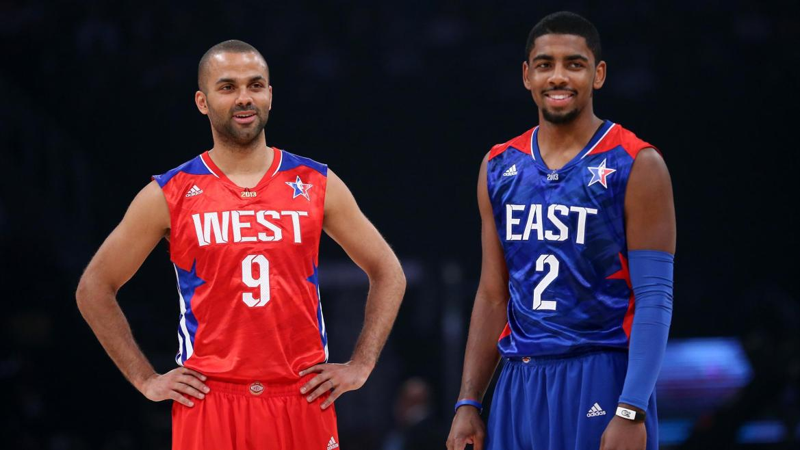 All Star Game 2013 Tony Parker Kyrie Irving