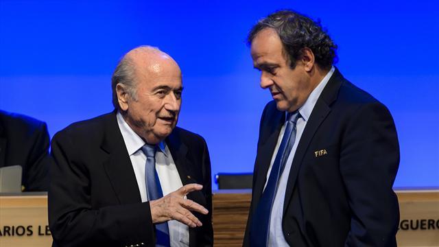 Blatter et Platini menacés par la commission d'éthique de la FIFA