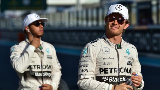 """Hamilton à Rosberg : """"Etre champion du monde sonne bien mieux qu'être vainqueur de cette course"""""""