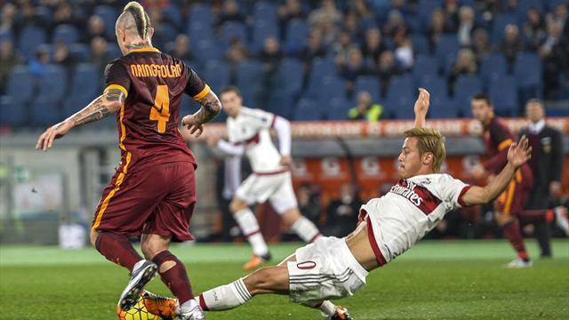 Du rythme et des occasions, mais la Roma et le Milan restent au point mort