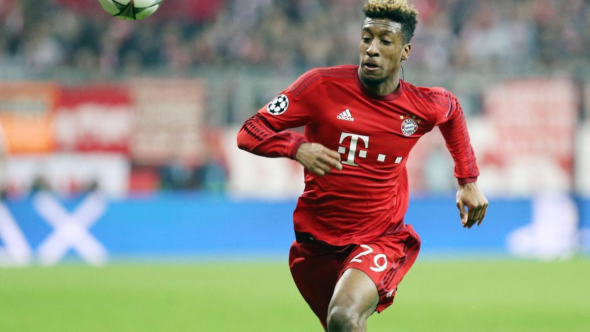 Kingsley Coman startet beim FC Bayern München durch