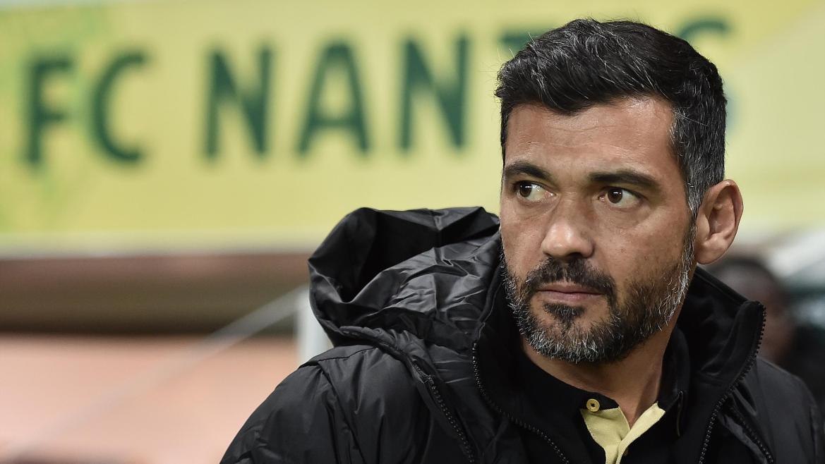 Sergio Conceicao lors de Nantes - Montpellier en Coupe de Ligue le 13 décembre 2016