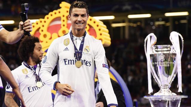 Cristiano Ronaldo lors de la finale de Ligue des champions