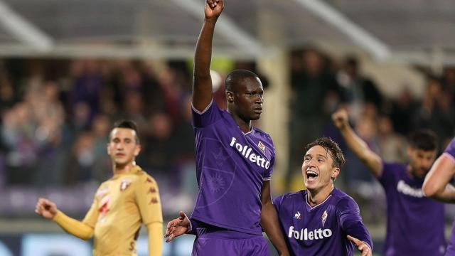 Babacar - Fiorentina-Torino - Serie A 2017/2018 - Getty Images