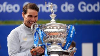 Image result for Rafael Nadal clinched the 2018 Barcelona Open tennis tournament