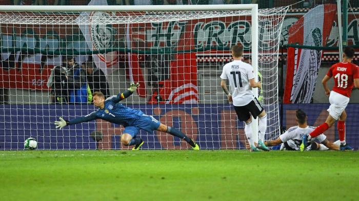 نتيجة بحث الصور عن Austria 2-1 Germany